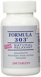 Formula 303 Maximum Strength Natural Muscle Relaxant for Spasms and Cramps $15.99