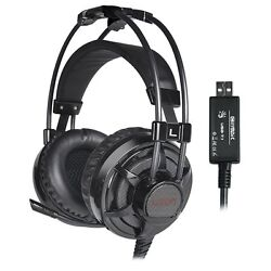 LUXON 7.1 Gaming Headset Over Ear Stereo Headphones with Mic for PCMACPS4  $19.99