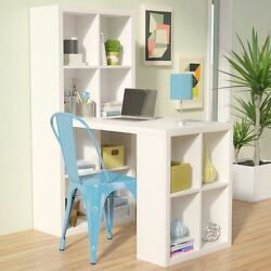 Home Hobby Table Craft Supplies Storage Furniture Cabinet Sewing Desk Cube Shelf