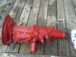 Rebuilt Overdrive Ford Mercury Flathead Engine 3 Speed Transmission