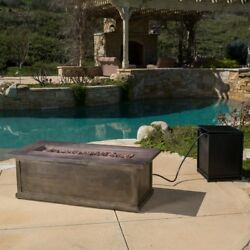 Best Selling Home Decor Furniture Jordan Propane Fire Pit Table Brown
