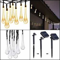 Halloween Outdoor Solar Powered 30 LED String Light Yard Party String Light 20ft