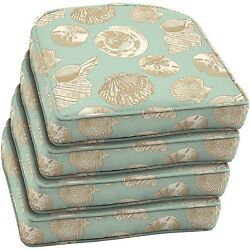 Patio Chair Cushions Set Of 4 For Outdoor Furniture Wicker Seats Replacements