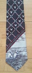 NWT Field & Stream Duck Hunt 100% Silk Tie