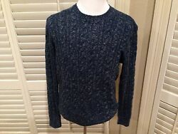 $2595 LORO PIANA Cashmere  Sweater size US 44 EU 54  HAND MADE IN ITALY