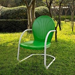 Retro Metal Lawn Chairs Metal Patio Chair Outdoor Vintage Garden Furniture