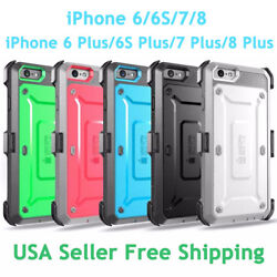 SUPCASE For iPhone 66S788 Plus Unicorn Beetle Pro Fully Rugged Holster Case