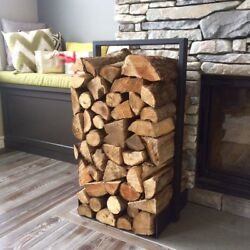 Firewood Log Rack For Home Fire Place Decoration (indooroutdoor) Modern And