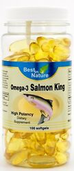 Original Best in Nature Omega 3 Salmon King $9.99