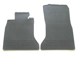 11 12 13 14 15 16 BMW F10 F11 528I 535I 535D 550I FRONT BLACK RUBBER FLOOR SET 5 $85.00