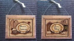 Primitive Bathroom Pictures Live Today Dream Bath Wall Hanging Home Plaques $10.99