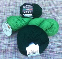 Spud & Chloe Cascade Filatura di Crosa Mixed lot 3 New skeins yarn