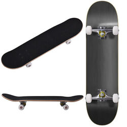 ROBBI Blank Complete Skateboard Stained BLACK 7.75quot; Skateboards Ready to ride $38.49
