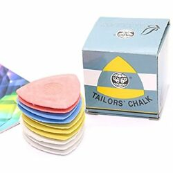 10 Sewing Notions & Supplies Pieces Pack Triangle Tailor's Chalk Quilting