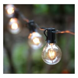 Outdoor String Lights Backyard Patio lights  Extra Long Outdoor String Lights