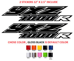 (#659)  Yamaha yxz 1000r Decal Graphic Kit Wraps Decals Sticker Off Road