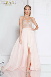 Terani Couture 1811P5215 Evening Dress ~LOWEST PRICE GUARANTEED~ NEW Authentic