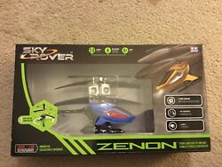 Sky Rover Zenion RC helicopter red and blue $25.00