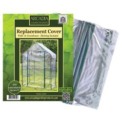 Arcadia Garden Products 1-Sided Walk-in Greenhouse Replacement Cover Clear