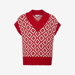 NEW ALEXANDER MCQUEEN MENS CHUNKY-KNIT SWEATER