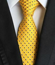 Yellow with Black Dots Neck Tie $15.00