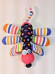 Little Miss Matched Puppy DOg Stripes Dots Multicolor Plush Stuffed Animal 12