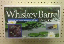 NEW - WHISKEY BARREL PATIO POND KIT - TETRA POND - CONVERTS ANY SMALL CONTAINER