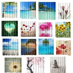 Shower Curtains Natural Scenery - Charming Home Hotel Polyester Panel Drapes