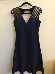 Herve Leger Adrianna Dress Large with tags