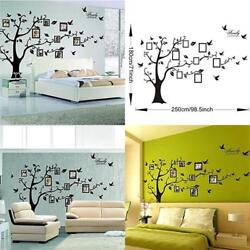 Family Tree Wall Decal Vinyl Sheet Home Mural Bedroom Stencil Decoration Sticker