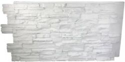Stack Natural White Stone Wall Panel Faux Building Supplies Polyurethane