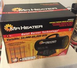 NEW Mr. Heater 50-85000 BTU Portable Propane Forced Air Heater F271380 MHQ85FAV