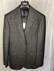 NEW VERSACE MAINLINE $3K WOOL BLEND SUIT SIM. TO ARMANI ZEGNA GUCCI TOM FORD