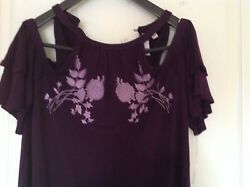 Women purple dress Francesca Large $42.99