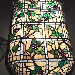 ANTIQUE AMERICAN  STAINED GLASS WINDOW  DOME SKYLIGHT