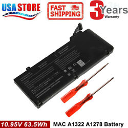 Battery For Apple MacBook Pro 13 inch A1278 A1322 Mid 2009 2010 Early 2011-12 C $23.95
