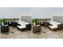 Outdoor Furniture Rattan Dining Chaise Lounge Chair Sofa Seats Table Desk Set