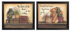 💗 Primitive Pictures 5x7 Rustic Barn Stars Wall Hangings Country Kitchen $13.99