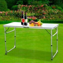 Folding Table Portable Outdoor Picnic Party Dining Camp Tables 3FT L X 2FT W $30.99