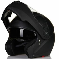 ILM Motorcycle Helmet Full Face Modular Flip Up Helmet Mountain Bike Helmets DOT $64.99