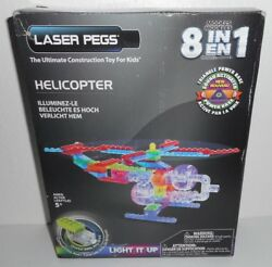 New Laser Pegs 8 in 1 HELICOPTER Building Set Construction Toy for Kids Blocks $26.99