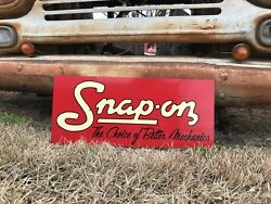 Antique Vintage Old Style Snap On Tool Sign $53.00
