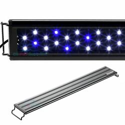 AQUANEAT Aquarium LED Light Marine FOWLR Blue amp; White 12 20 24 30 36 48 Inch