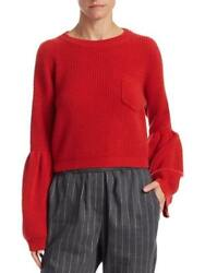 NEW BRUNELLO CUCINELLI WOMENS CROPPED CASHMERE SWEATER