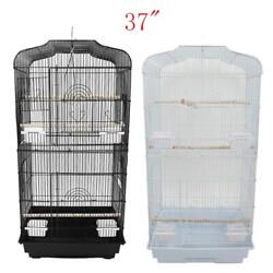 Large Tall Bird Parrot Cage Canary Parakeet Cockatiel Finch Cage $38.59