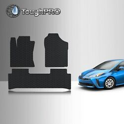 ToughPRO Floor Mats Black For Toyota Prius Prime All Weather 2017 2021 $79.95