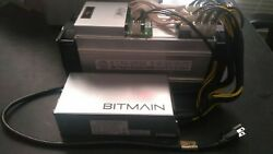 In hand ship fast! Antminer S9 11.85Ths wAPW3++ PSU & cord - US seller