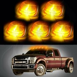5XAmber Cab Marker Roof Running Light w 194 Amber LED For 99 18 Ford F 250 F 350 $21.99