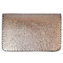 NEW VALENZ HANDMADE MENS LEATHER BIFOLD WALLET - ITALIAN LEATHER - BRONZE