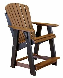 Wildridge Recycled Plastic Heritage High Adirondack Chair